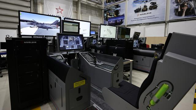 Yerli F16 simülatöründe ihracat hazırlığı