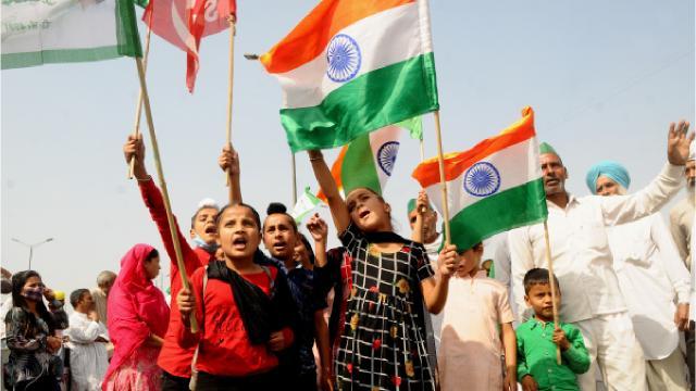 Hint çiftçiler ülke çapında 2nci kez grev başlattı