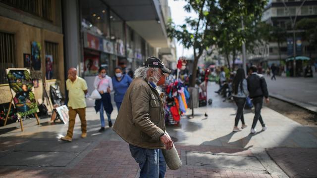 Kolombiyada can kaybı 126 bini aştı