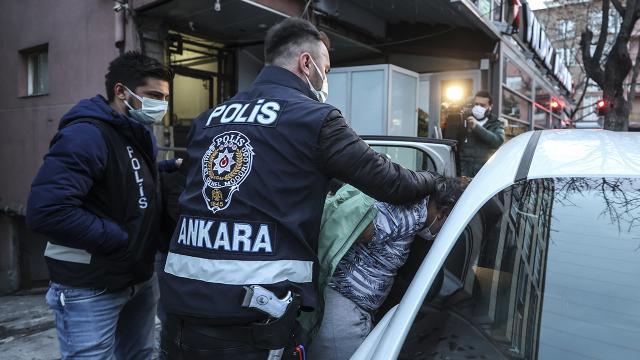 """Ankara merkezli 3 ilde """"Yarasa Kız Operasyonu: 115 gözaltı"""