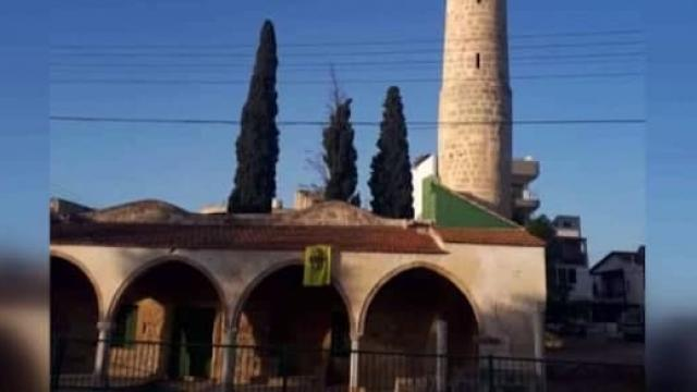 Rum Kesiminde camiye çirkin saldırı