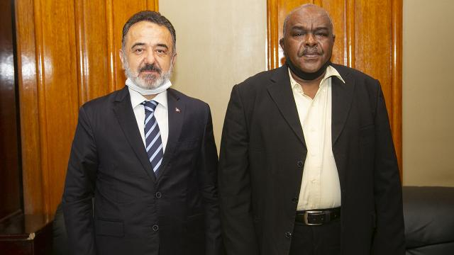 Sudan Ticaret Bakanı Adem: Türkiye, Sudanın Avrupaya açılan kapısı olabilir