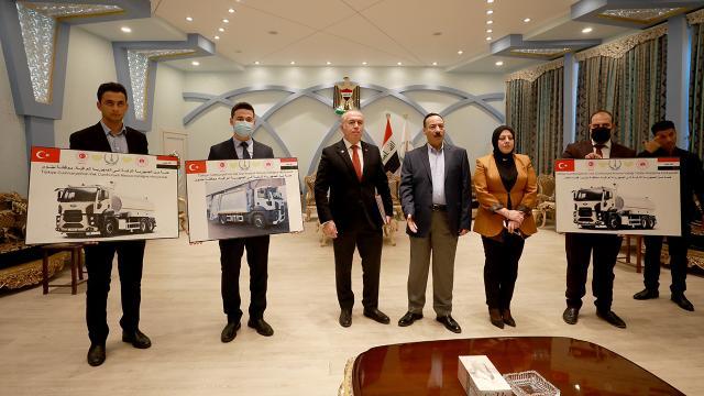 Türkiye Musul, Kerkük ve Diyalaya belediye araçları hibe edecek