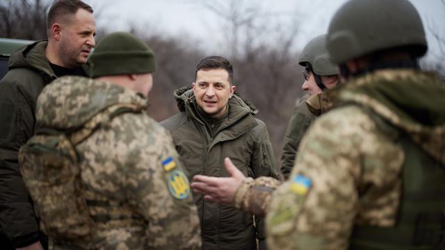 Ukrayna Devlet Başkanı Zelenskiy, Donbasa gidiyor