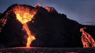Japonya'da Otake Yanardağı'nda patlama