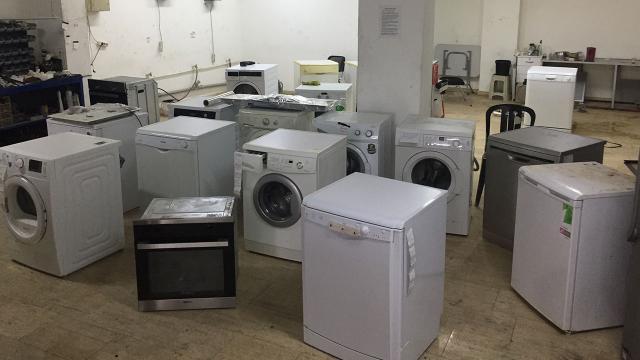 Yetkili servis bahanesiyle beyaz eşyaları çalanlara operasyon: 41 gözaltı