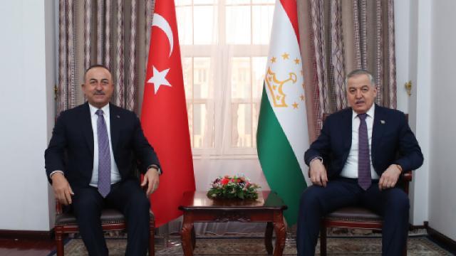 Çavuşoğlu: Tacikistana vizesiz girişler için çalışıyoruz