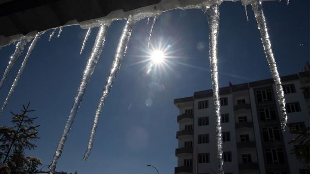 Doğu Anadoluda sıcaklık düşüyor