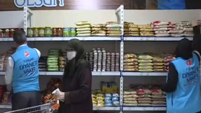 Bursa Osmangazideki hayır market ücretsiz hizmet veriyor