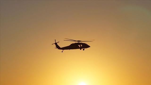 Zimbabvede askeri helikopter bir evin üzerine düştü