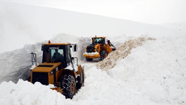 Muşta Kar Kaplanları kapalı 159 köy yolunun tamamını ulaşıma açtı