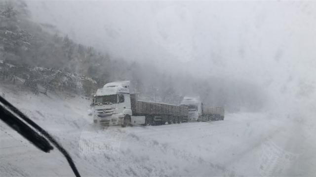 Karsta kar ve tipi etkili oldu
