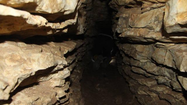 Kocaelide Kibeleye adanmış mağara keşfedildi