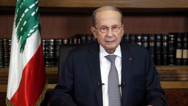Lübnan Cumhurbaşkanından uluslararası topluma yardım çağrısı