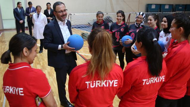 Bakanı Kasapoğlu: En başarılı olimpiyatlara adayız