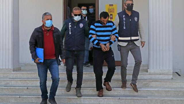 Muğlada bıçakla bir kişiyi öldüren bir kişiyi de yaralayan zanlı tutuklandı