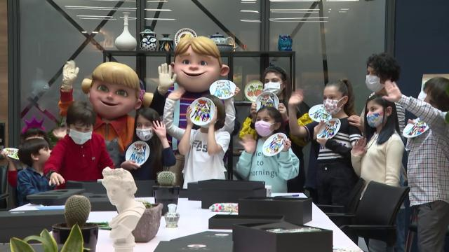 Rafadan Tayfa'nın sevilen karakterleri çocuklarla buluştu