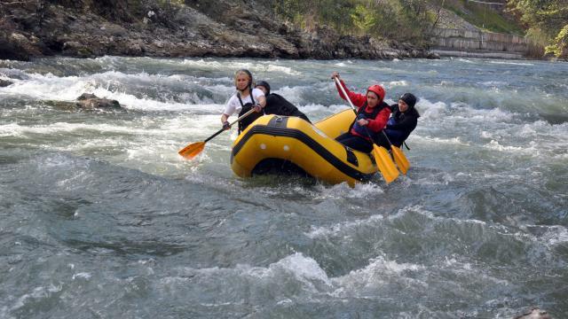 Raftingde emanet botla yakaladıkları başarıyı, uluslararası arenada sürdürmek istiyorlar