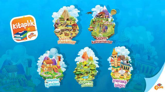 TRT'den çocuklara özel dijital kitap uygulaması: TRT Çocuk Kitaplık