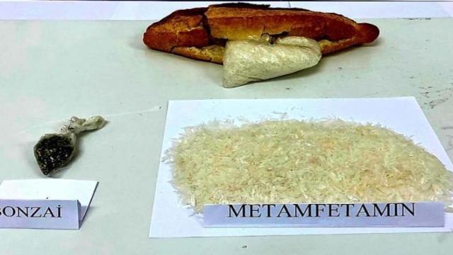 Kırıkkalede ekmek arasına gizlenmiş uyuşturucu ele geçirildi
