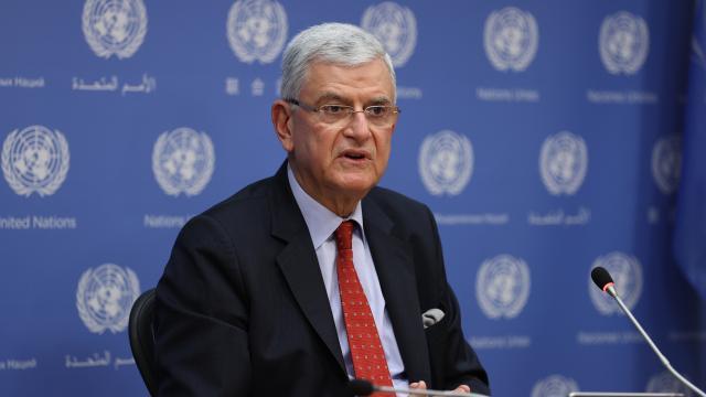 BM Genel Kurul Başkanı Bozkır ve ABD Dışişleri Bakanı Blinken görüştü