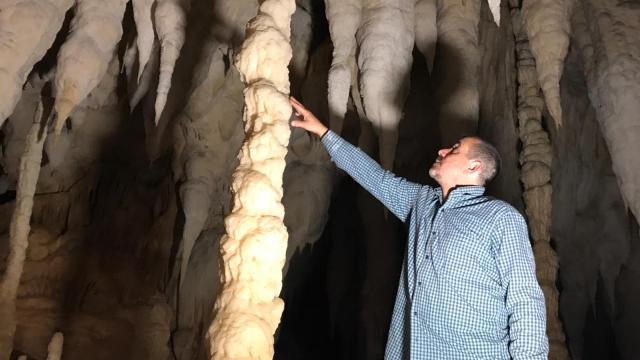 Zonguldakta tünel inşaatında ortaya çıkan mağaranın turizme kazandırılması hedefleniyor