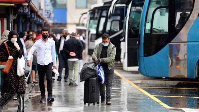 İstanbulda şehirlerarası günlük otobüs sefer sayısı 900e çıktı