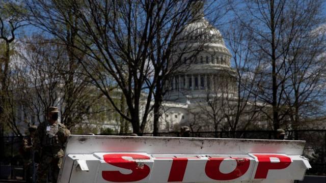 ABD Kongre Binası çevresine kurulan barikatlar kaldırılıyor
