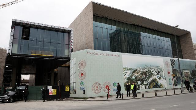 Atatürk Kültür Merkezi 29 Ekimde açılıyor