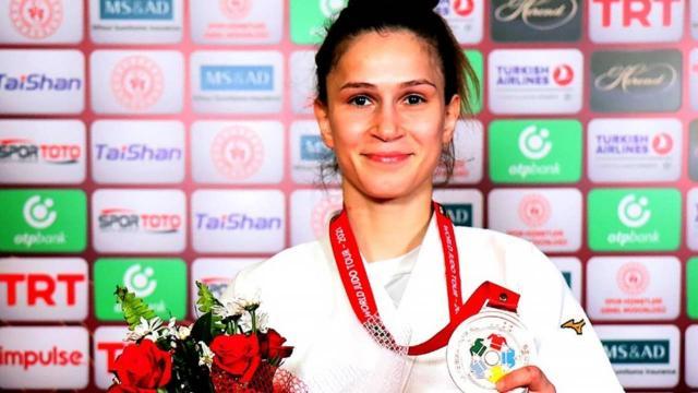 Gülkader Şentürk judoda bronz madalya kazandı