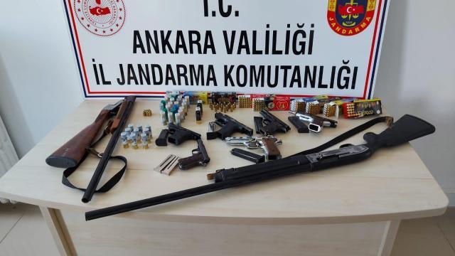 Ankarada silah kaçakçılığı operasyonu: 3 gözaltı