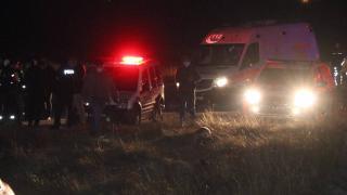 Polisten kaçan şüpheliler kaza yaptı: 2 yaralı