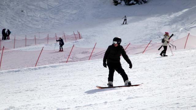 Ilgaz Dağında kayak sezonu nisan ayına uzadı