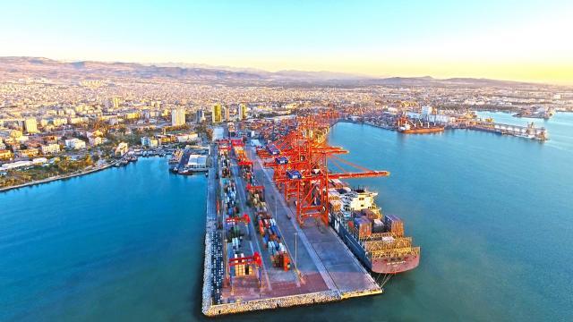 Mersin Uluslararası Limanı Genişleme Projesinin 20 ayda tamamlanması hedefleniyor