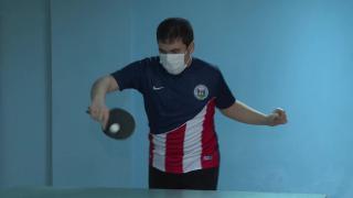 Otizm engelini aştı, masa tenisiyle hayata tutundu