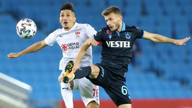 Sivasspor ile Trabzonspor 30. randevuda
