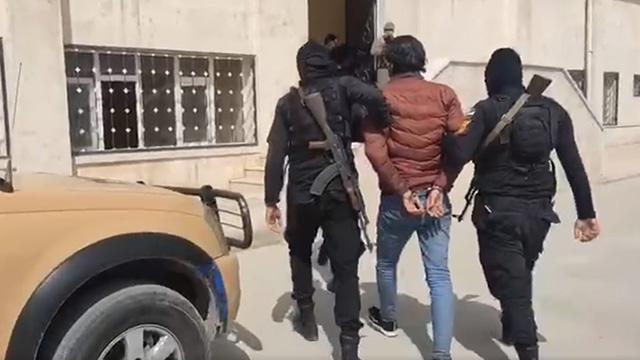 El-Babda canlı bomba yakalandı