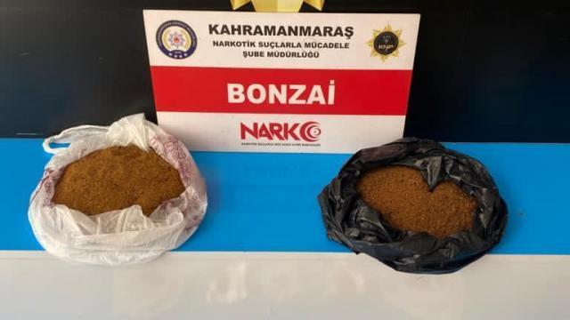 Kahramanmaraşta uyuşturucu operasyonu: 3 tutuklama