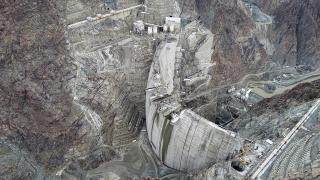 Türkiye'nin en yüksek barajında 275 metreye ulaşıldı