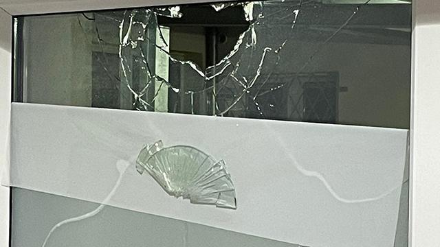 Almanyada camiye taşlı saldırı