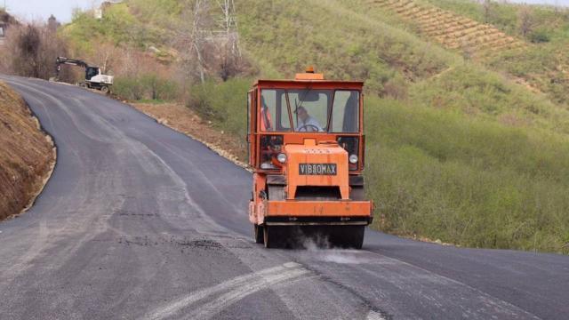 Batı Karadeniz bağlantı yolunda alternatif yol yarın ulaşıma açılacak