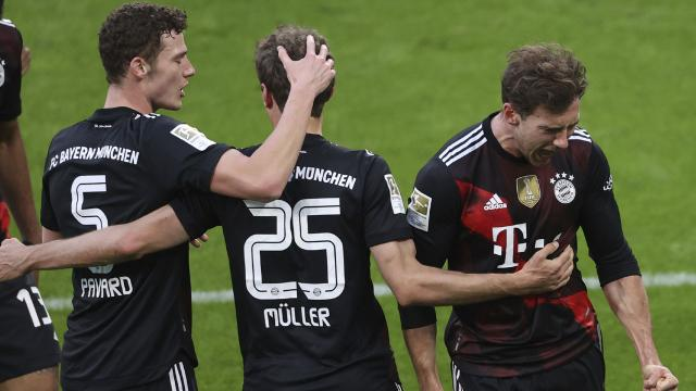 Bayern Münih tek golle kazandı