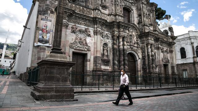 Ekvadorda sokağa çıkma kısıtlaması uygulanacak