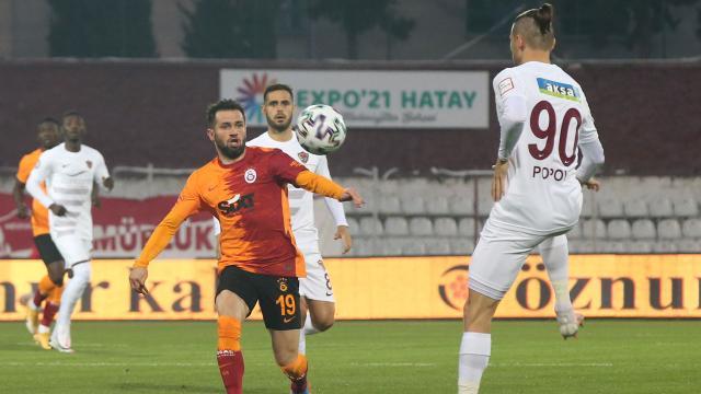 Galatasarayda 6, Hataysporda 3 değişiklik