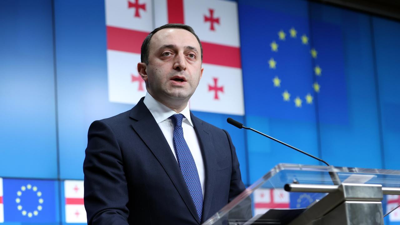 Gürcistan Başbakanı Garibaşvili: Türkiye'ye her türlü yardıma hazırız