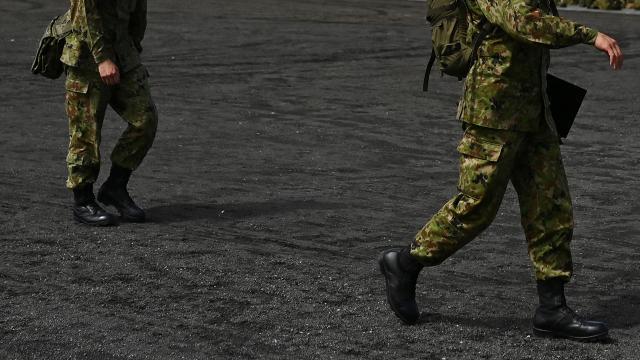Cibutide görev yapan iki Japon askeri COVID-19a yakalandı