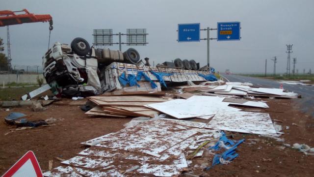 Mardinde kaza: 2 yaralı