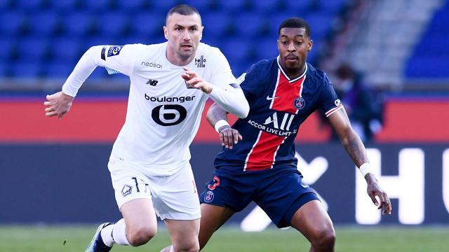 Lille, PSGyi yenerek yeniden lider