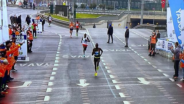 İstanbulda maraton heyecanı yaşanıyor