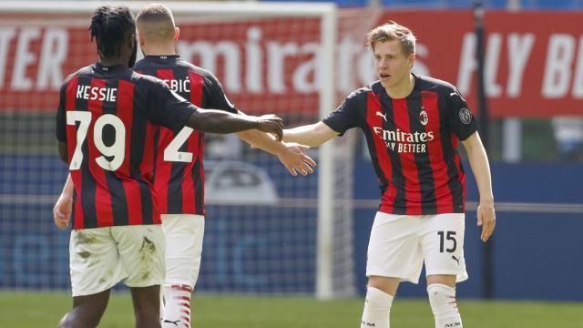 Milan beraberliği son dakikalarda kurtardı